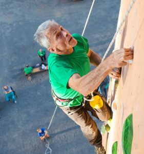 An Elder Climber Experiencing Arousal and Anxiety